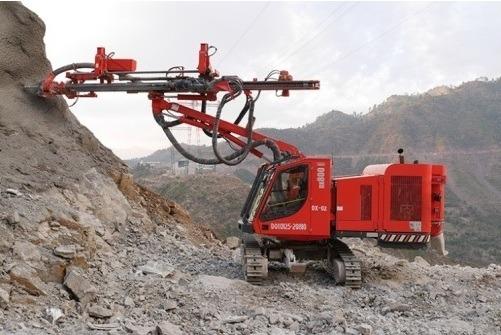 Drilling machine, anchor drilling, passive anchor drill, SDA machine
