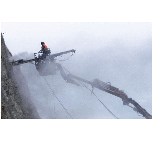 drilling-mast