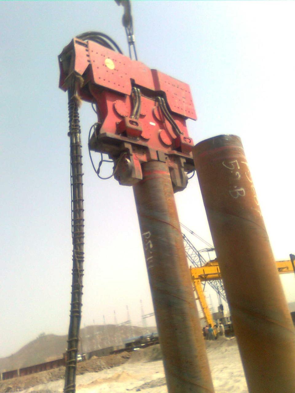 Hydraulic Vibratory Hammer 7-Ton
